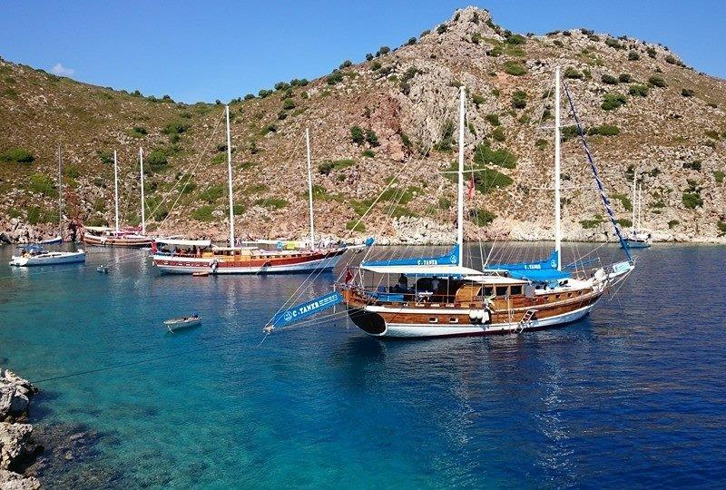 Hisaronu bay gulet cruise