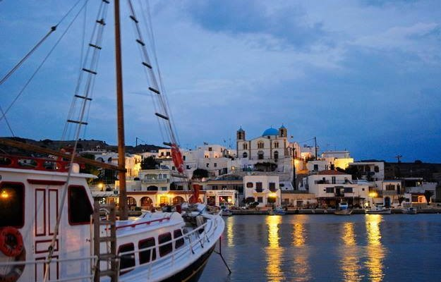 North Greek islands gulet itinerary