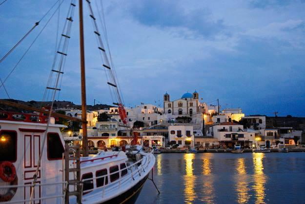 North Greek islands gulet itinerary
