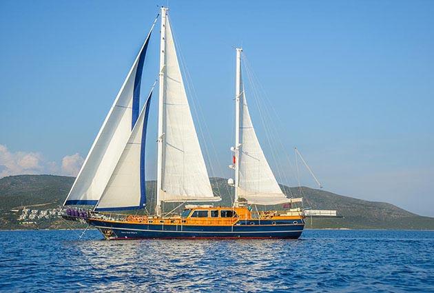 luxury gulet dea del mare