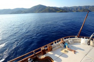 Your total relax on gulet cruise holiday