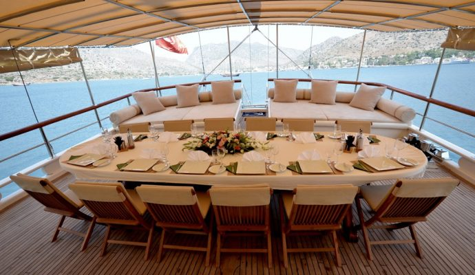 Best luxury gulets for the private charters