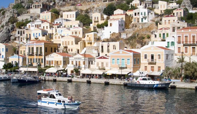 Cabin charter gulet cruise from Rhodes island