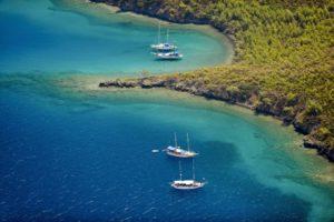 gulet cruise gokova bay