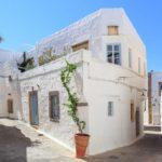 Chora tonw on Patmos island