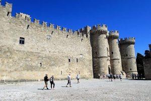 Rhodes town walls