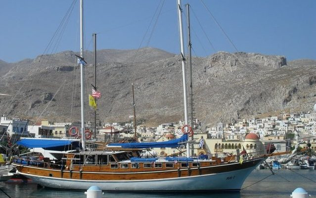 Pothia harbour