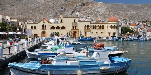 Kalymnos islands Pothia