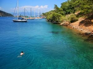 Gulet cruise- Hisaronu bay