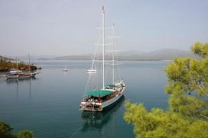 Hisaronu bay-gulet cruise