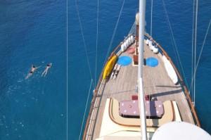 Elara gulet yacht deck (3)