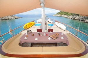 Elara gulet yacht deck (4)