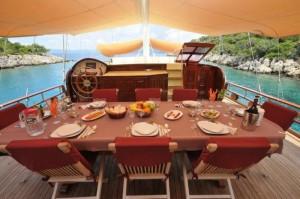 Elara gulet yacht deck (5)