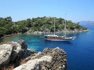 Gokova bay cruise
