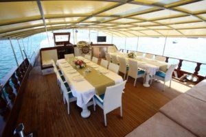 Holiday 5 gulet yacht (2)