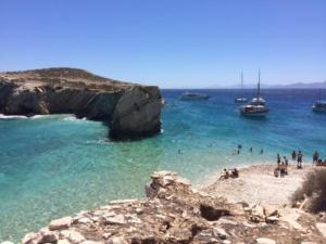 North Greek islands cruise Lipsi and Arki