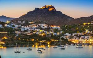 LEROS North Greek islands cruise Lipsi