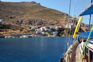 Rhodes gulet cruise Tilos Coast (2)