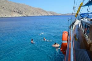 Rhodes gulet cruise Tilos Coast (6)