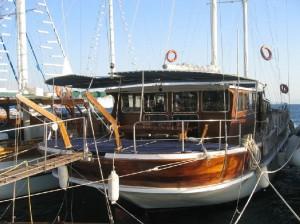 Seher gulet yacht deck (2)