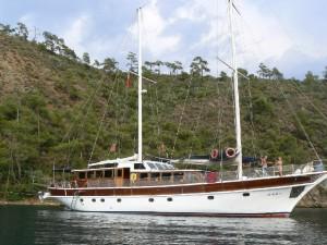 Seher gulet yacht deck (5)