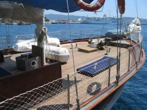Seher gulet yacht deck (8)